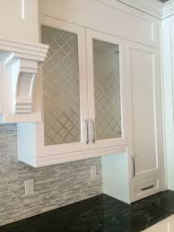 Glass Kitchen Tiles For Backsplash Cabinets U0026 Drawer White Frosted Glass Kitchen Cabinets Doors Gray