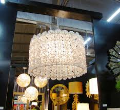 lighting lamps tiere capiz chandelier for exotic dining room home