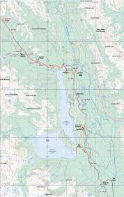 Canadian Rockies Map High Rockies Trail Tourism Canmore Kananaskis