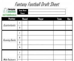 Football Depth Chart Template Excel Best 25 Football Draft Sheet Ideas On Free