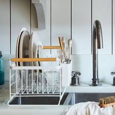 Kitchen Dish Rack Ideas Over The Sink Wood Handled Dish Rack On Food52
