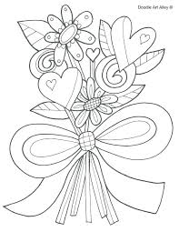 dead flower coloring page coloring pages for girls flowers day of the dead and flowers