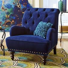 Blue Accent Chair Chair Wonderful Blue Accent Chair Ideas Blue Velvet Accent Chair