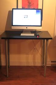 Ikea Desk Stand More Modest Hack Ikea Stand Up Desk 70 Http Lukethomas