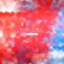 Blue Pattern Background Abstract Blue Red Hexagon Pattern Background Design 123freevectors