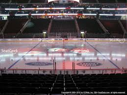 prudential center section 8 seat views seatgeek