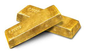 file gold ingots on white background jpg wikimedia commons