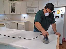 How To Paint Tile Backsplash In Kitchen Install Tile Over Laminate Countertop And Backsplash How Tos Diy