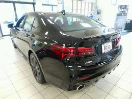 lexus vs acura yahoo new 2018 acura tlx 3 5 v 6 9 at sh awd with a spec red sedan in