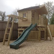 Garden Workshop Ideas Tower Playhouse The Wooden Workshop Oakford