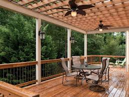 Deck With Pergola by Top 25 Best Outdoor Fans Ideas On Pinterest Screened Porch