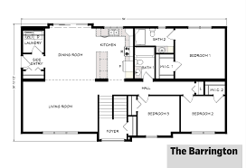Barrington Floor Plan by Split Entry Barrington Floor Plan Split Entry Home Designs