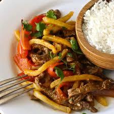 peruvian cuisine lomo saltado traditional peruvian recipe 196 flavors