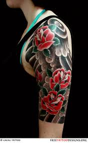 rose gun tattoo for girls on biceps photos pictures and