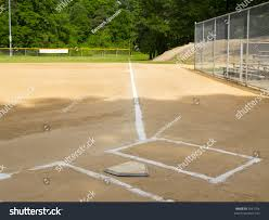 Home Plate Baseball by Home Plate First Base Foul Line Stock Photo 3561764 Shutterstock