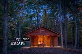 Tiny Homes In Michigan by House Escape In Canoe Bay Is A Cabin Rv