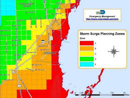 Miami On Map by Am I In An Evacuation Zone Check This Map