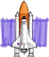 shoo rayner how to draw the space shuttle collectspace messages