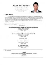 comprehensive resume format mesmerizing comprehensive resume sle for hrm in sle resume