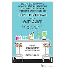 stock the bar invitations stock the bar shower party invitations new selections winter 2017