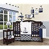 Cheap Crib Bedding Sets For Boy Sweet Jojo Designs 9 Come Sail Away Nautical