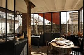 cuisine bois et metal salle a manger noir et bois 1 cuisine b233ton bois metal photo