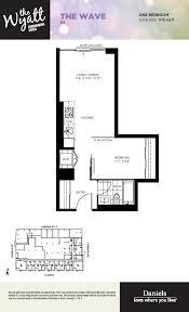 Regent Residences Floor Plan by The Wyatt Condos Regent Park Life