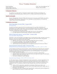 sample resume objective statements 7 sample resume objective