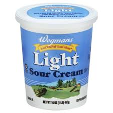 light sour cream nutrition light sour cream wegmans