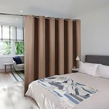 amazon com room divider curtain screen partitions nicetown hide