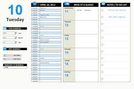 planner template best business template