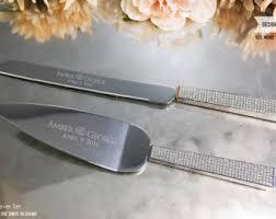 wedding gift knives wedding cake knife etsy