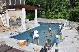 Pool With Pergola by A Modern Towson Md Swimming Pool And Pergola Land U0026 Water Design