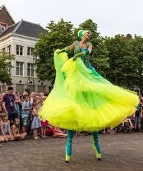 stilts clown variety show stilts walker costume circus