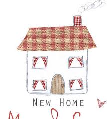 personalised new home card by violet pickles