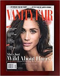 Magazine Vanity Fair Vanity Fair Magazine October 2017 Meghan Markle Cover Vanity