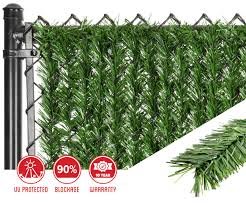 artificial ivy green leaf mat panels by natrahedge