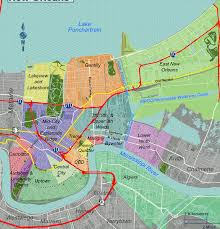 City Park New Orleans Map Map New Orleans New Orleans French Quarter Tourist Map New