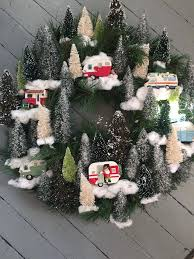 Decorative Pine Trees 55 Trendsetting Christmas Front Door Decorations To Deck Up Your