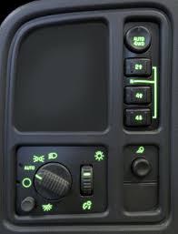 gmc sierra steering wheel light replacement led instrument panel lights led gauge lights led gauge