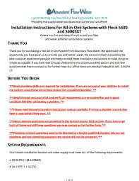 Iron Pro 2 Combination Water Softener Iron Filter Fleck 5600sxt