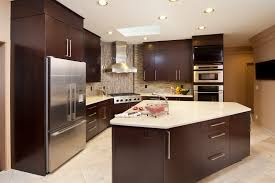 Flat Kitchen Cabinets Kitchen Design Your Own Kitchen Using Combination Of Red White