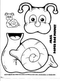 octopus paper bag puppet oceans paper bag puppets