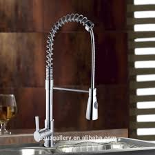 spring loaded kitchen sink mixer tap faucets spring loaded