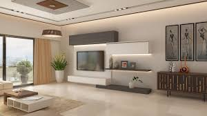 Modern Living Room Tv Unit Designs Ghar360 Portfolio 2 Bhk Apartment Interior Design In Jp Nagar