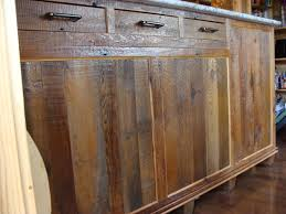 Salvaged Kitchen Cabinets Reclaimed Barnwood Kitchen Cabinets Barn Wood Furniture Rustic