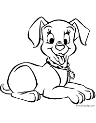 101 dalmatians coloring pages 4 disney coloring book