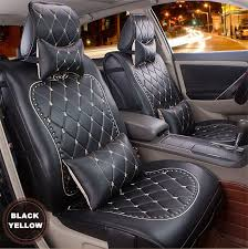 Auto Seat Upholstery High Quality Luxury Danny Leather Car Seat Cover Universal Cute
