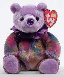 birthday bear ty beanie babies ty bear colors