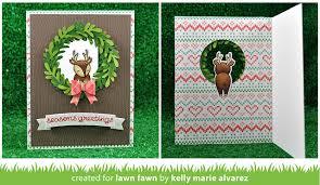the lawn fawn lawn fawn intro scalloped treat box winter